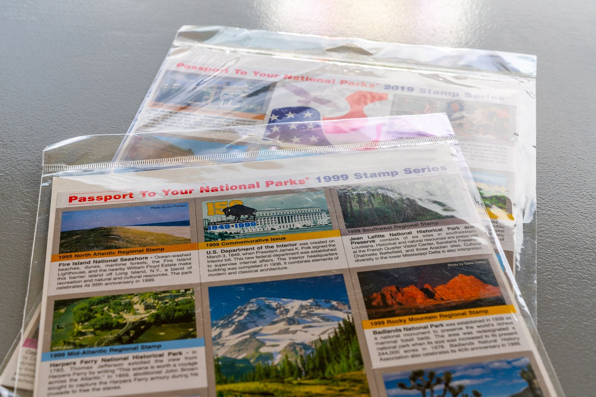 Passport to Your National Parks Stamp Series