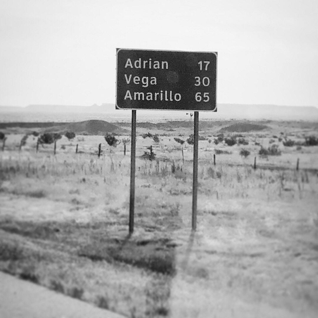Amarillo Sign