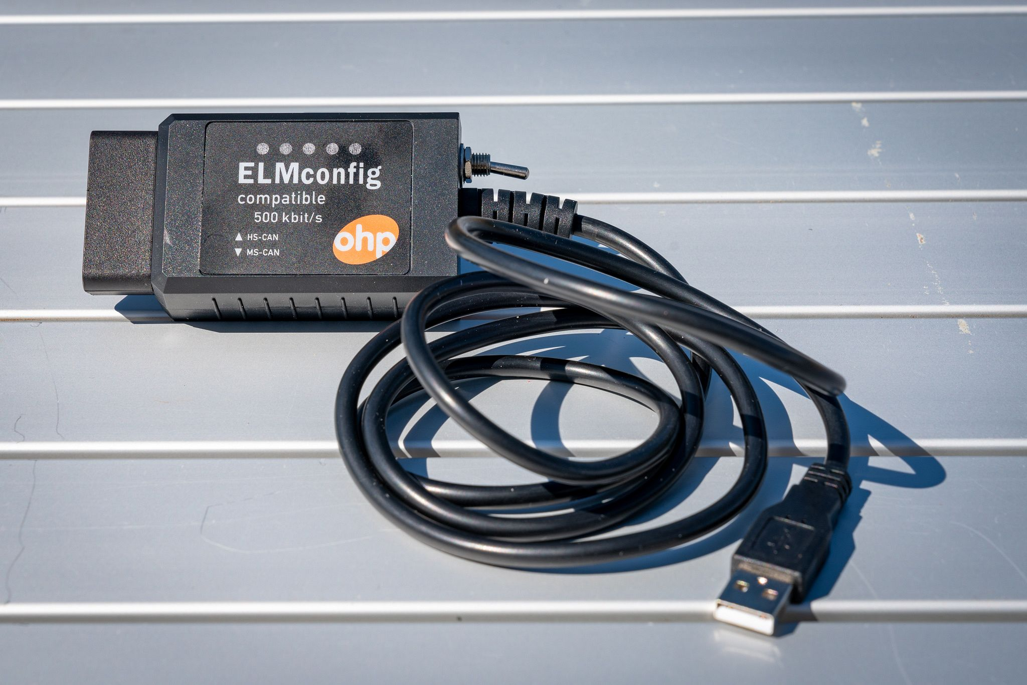 OHP ELMconfig OBD-II USB