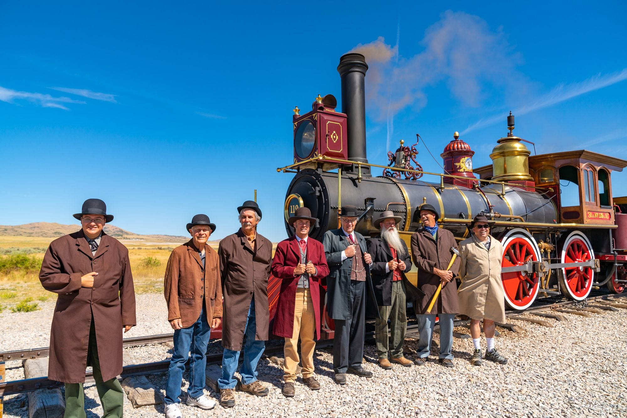 Golden Spike National Historical Park Reenactment