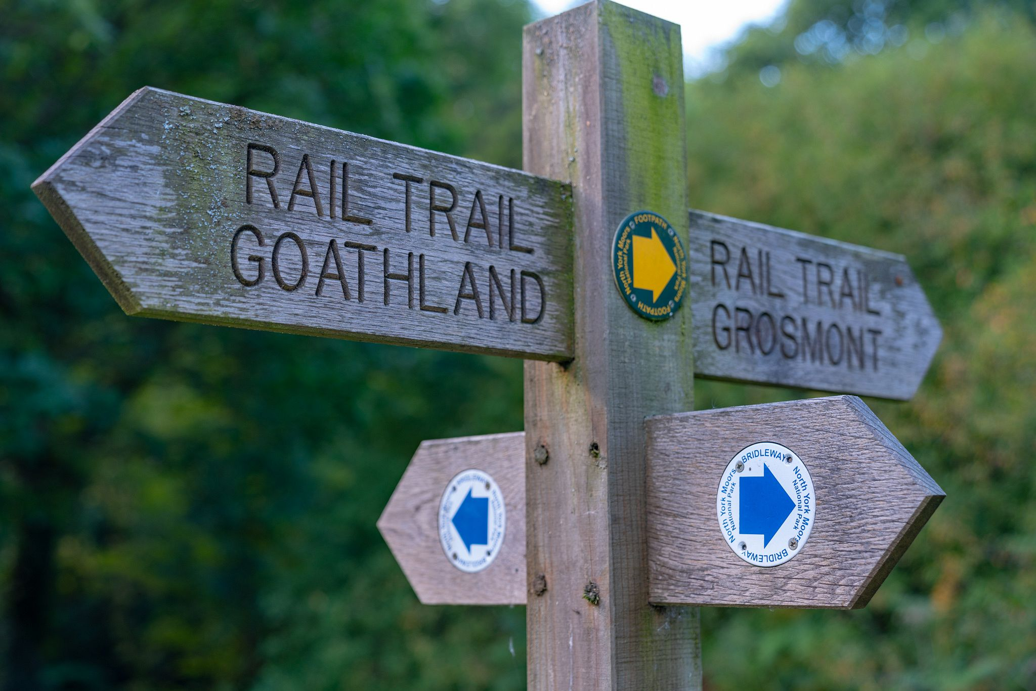Rail Trail Goathland to Grosmont