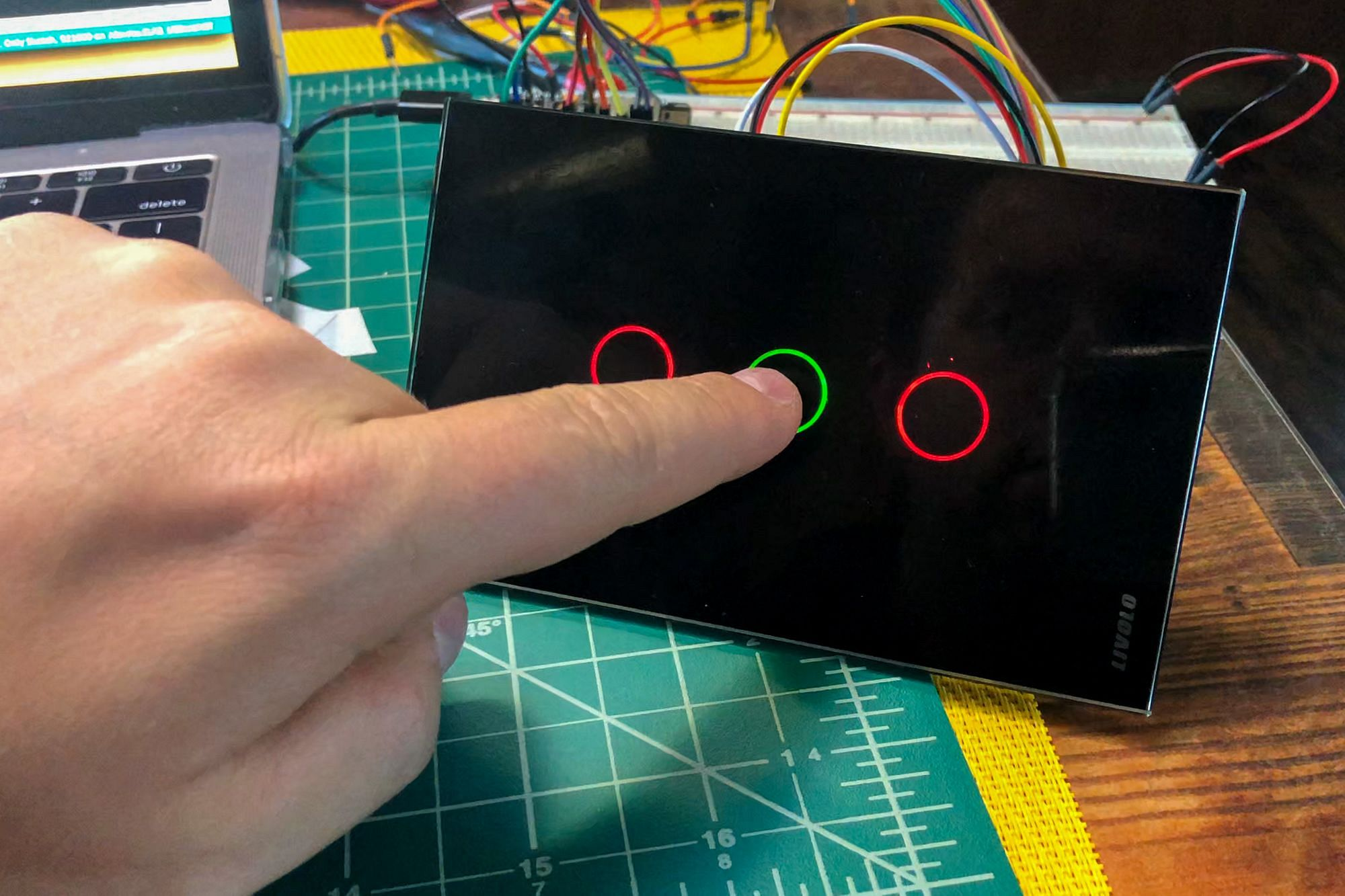 DIY Capacitive Touch Switch