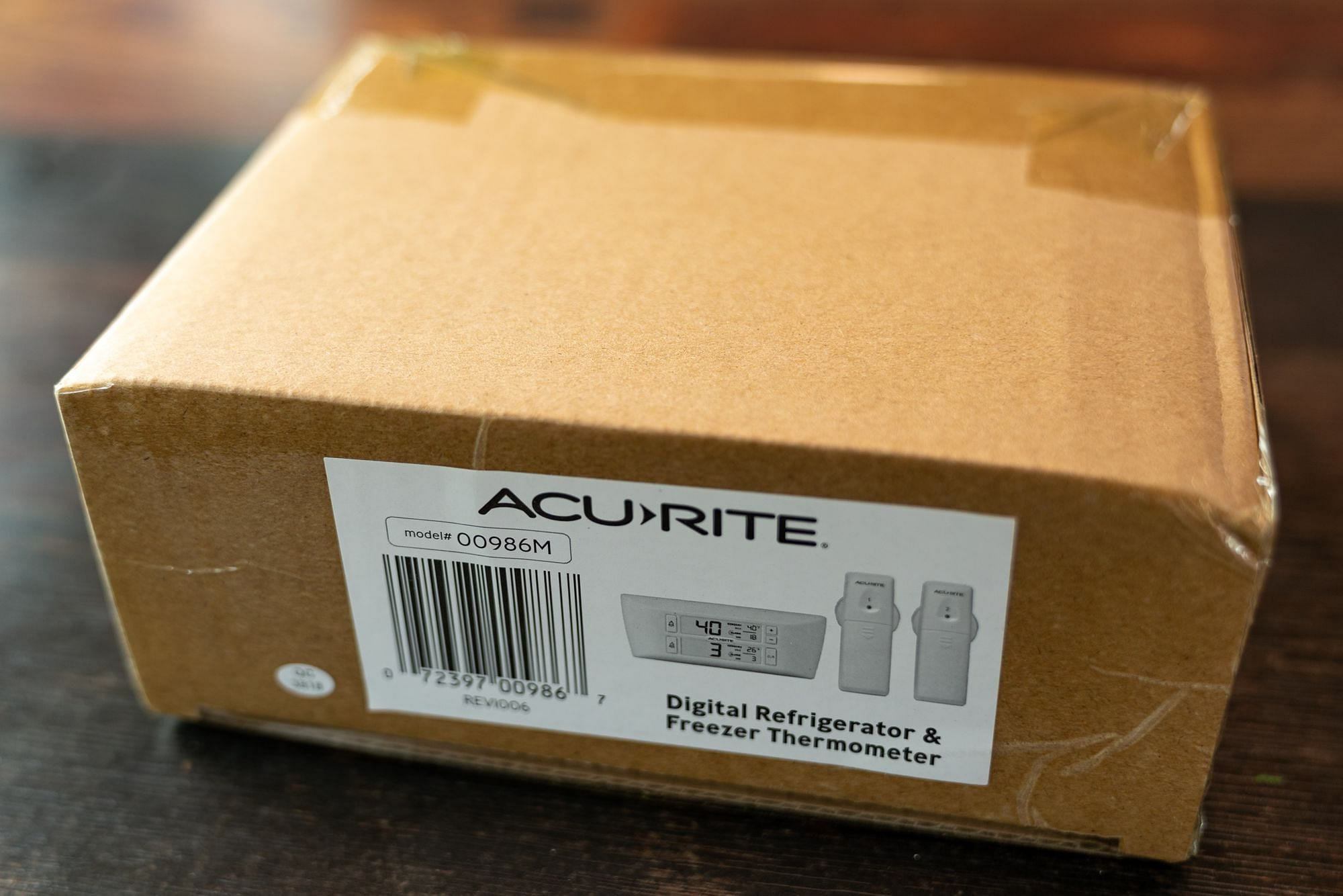 AcuRite 986 Packaging