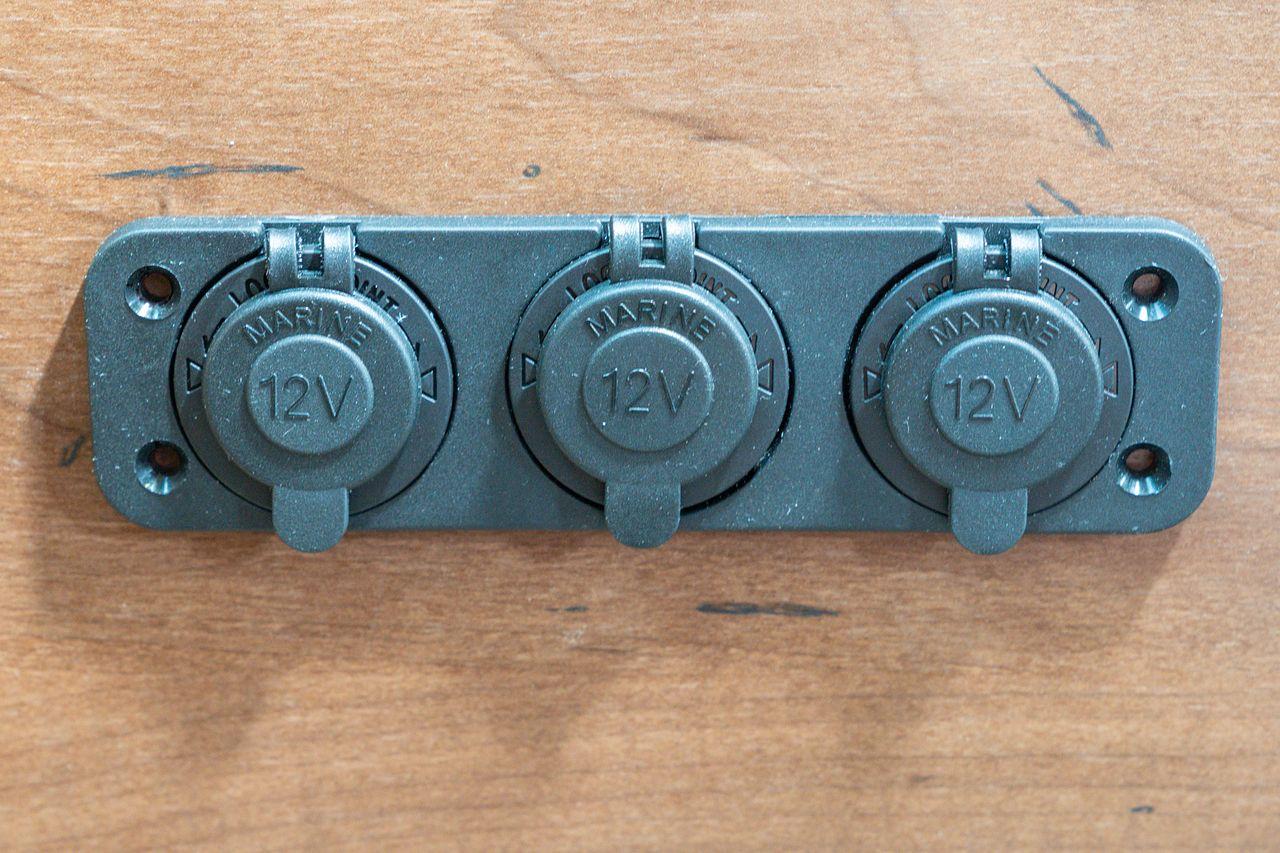 Installing 12V Outlets in our Slide Out