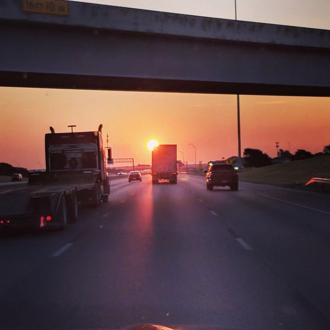 Sunrise over Fort Worth, TX