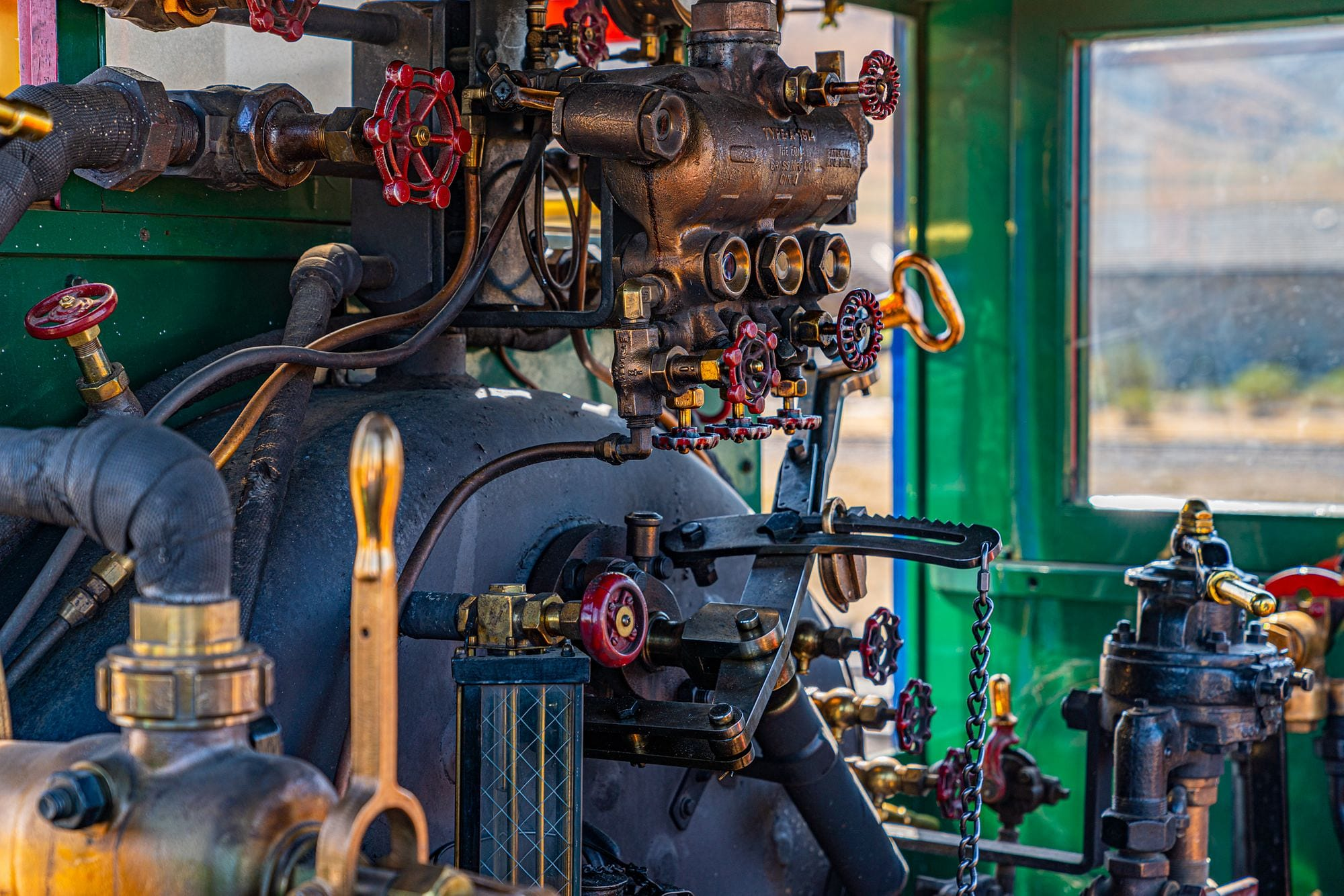 Jupiter Locomotive Controls