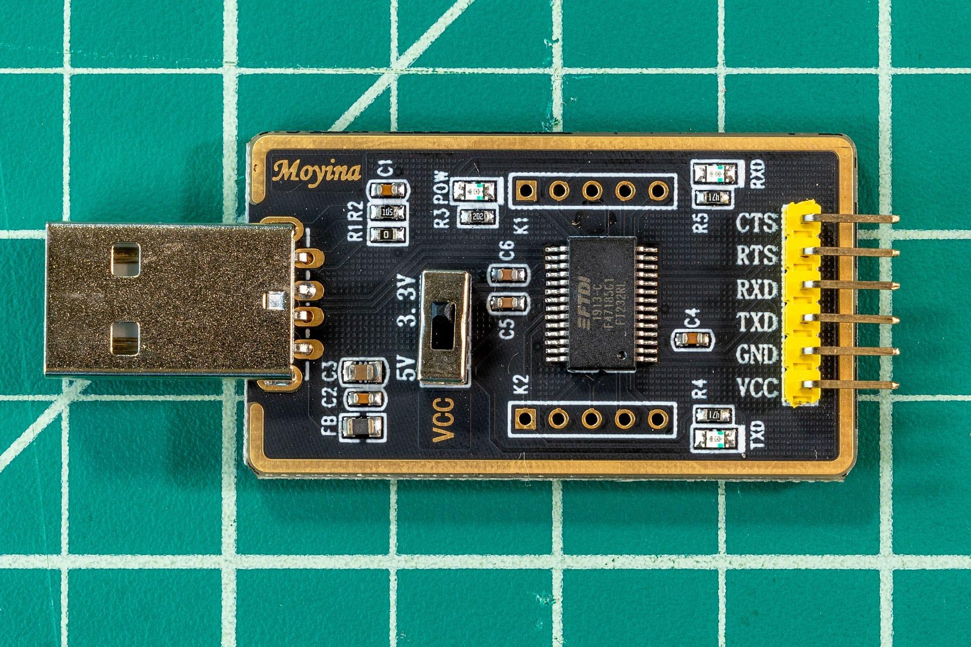 Moyina FTDI USB Adapter