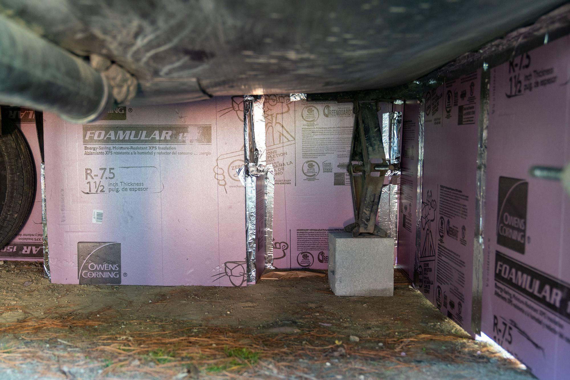 RV Foam Board Foil Tape