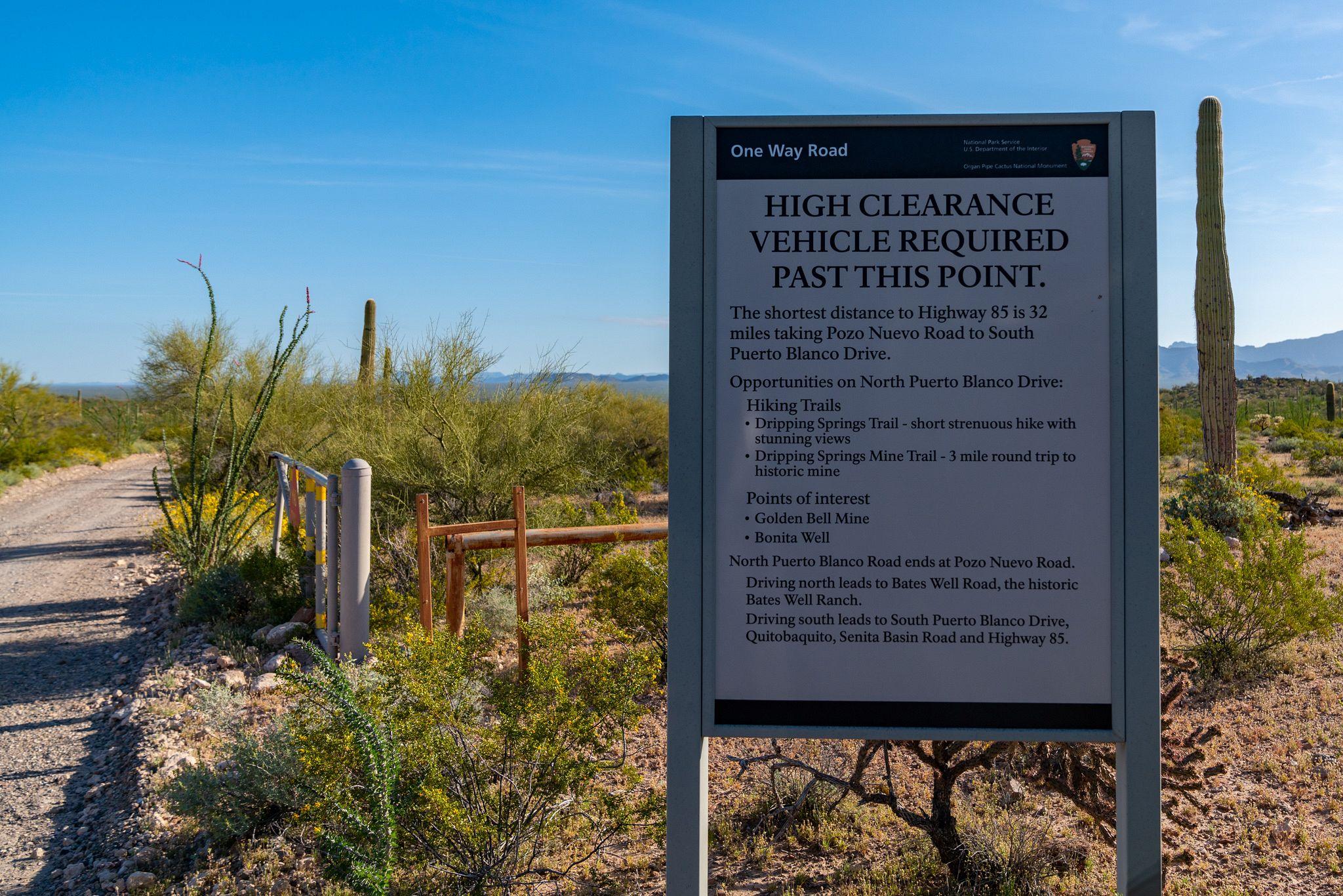 High Clearance Sign