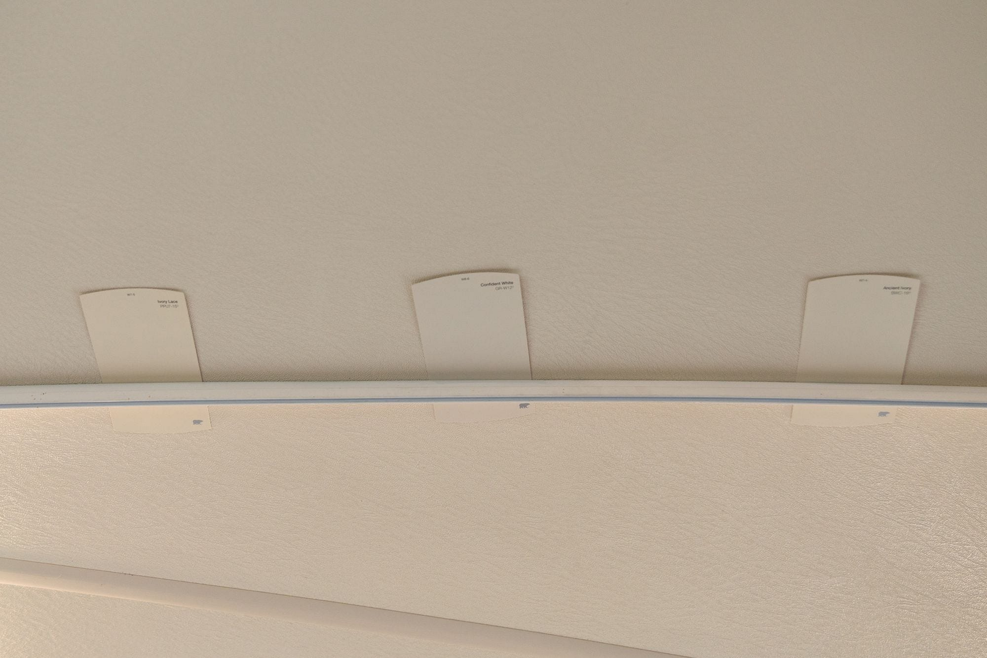 Color Matching RV Ceiling
