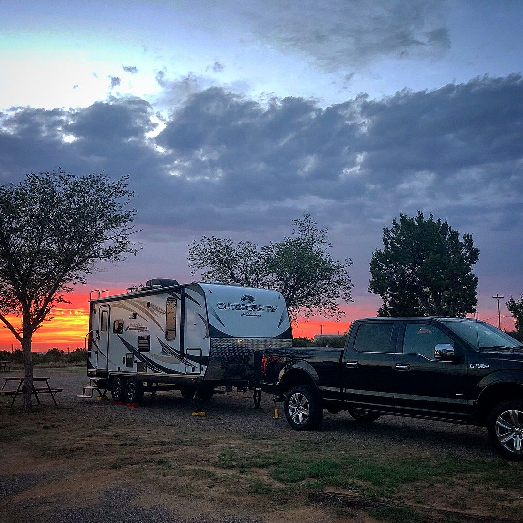 Sunrise in Santa Rosa, NM