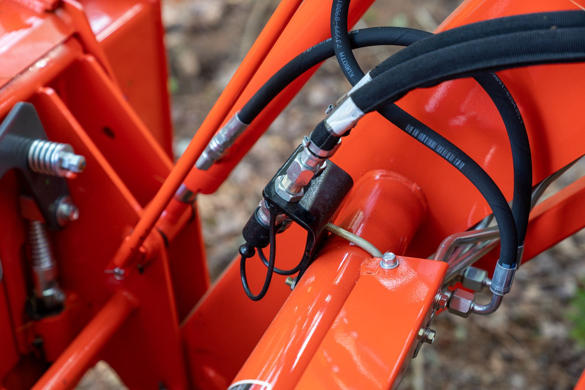 3rd Function Hydraulic Grapple